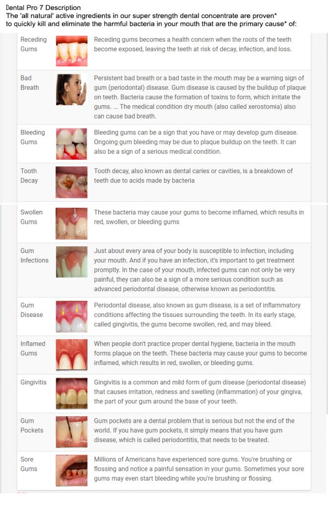 Dental Pro 7 Description