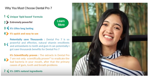 Benefits of Dental Pro 7